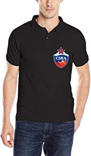 CSKA Moscow Football Club Adult Short Sleeve Polo T Shirt