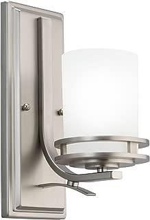 Kichler 5076NI Wall Sconce 1-Light, Brushed Nickel