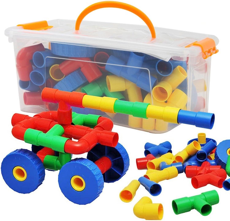 Bau Taschen, Bausteine, Kinder Buchstaben, alphanumerische, Brick Toy Collection (color   64)
