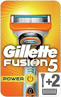 Gillette Fusion men's razor handle and 2 Razor Blade Refills, 2 count