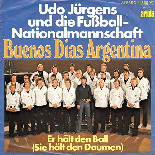 Buenos Dias Argentina / Er hält den Ball (Sie hält den Daumen) / Bildhülle / ariola 11 888 AT