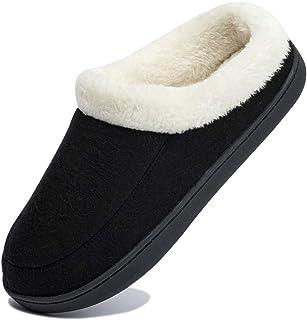 [Ducan] ルームシューズ レディース 暖かい スリッパ メンス 冬 室内履き ボア付き もこもこ 冬用サンダル あったか 洗える おしゃれ
