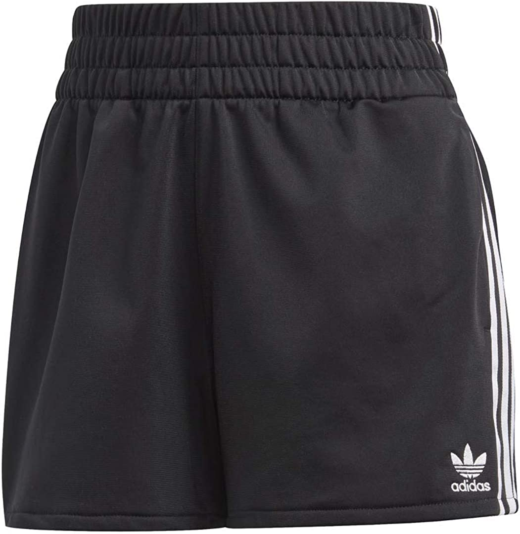adidas Originals Women's Attention brand Easy-to-use 3-Stripes Shorts