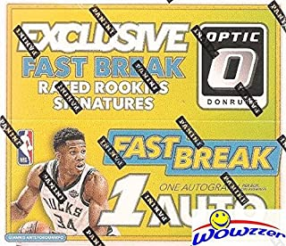 2017/18 Panini Donruss OPTIC NBA Basketball FAST BREAK Factory Sealed Box with AUTOGRAPH & 18 INSERTS/PARALLELS! Look for RC's & AUTOGRAPHS of Donovan Mitchell, Jayson Tatum Lonzo Ball & More! WOWZZER