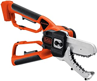 black and decker alligator cordless lopper