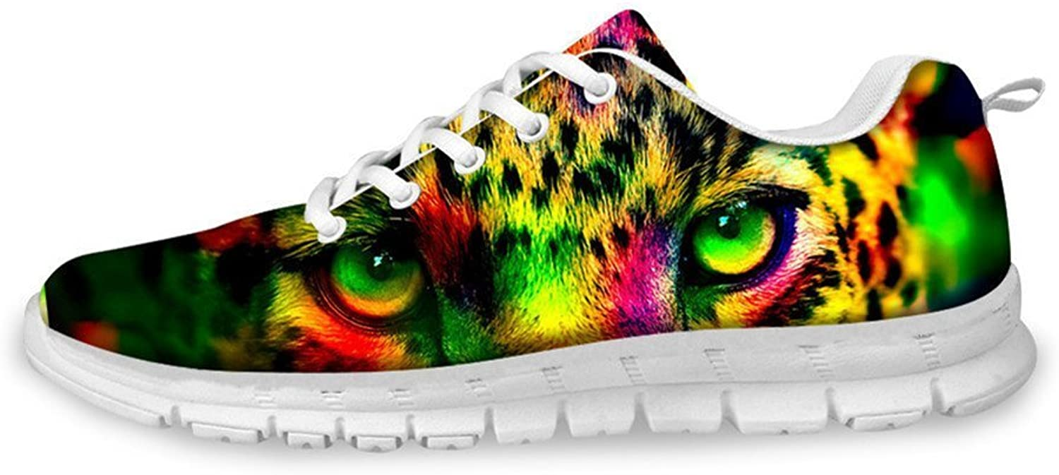 Xinind Lightweight Mesh Printing Women Casual shoes 3D Printed Sneaker