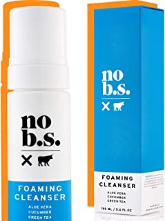NO B.S. Skin Care Foaming Cleanser - Natural Face Wash For Women - Fresh Facial Cleanser For Women Is Great For Daily Use ...