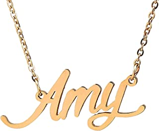 Best amy necklace gold Reviews