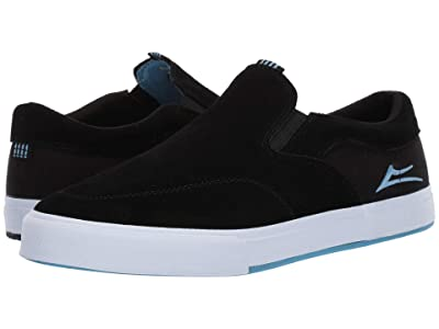 Lakai Owen VLK (Black Suede/James Capps) Men