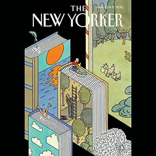 The New Yorker, August 10th and 17th 2015: Part 2 (Kelefa Sanneh, Dana Goodyear, Peter Hessler) audiobook cover art