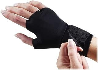 Dome Handeze Therapeutic Support Gloves, Medium, Black