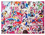 Heroine Wonder Woman Homemade PDA Slide Guitar Casco Moto Girl PDA Mini Sticker 25 Zhang