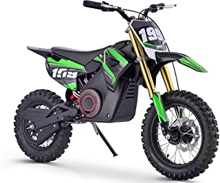 MotoTec 36v Pro Electric Dirt Bike; 36 Volt 1000 Watt, Lithium Ion, Green