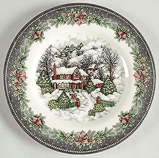 Royal Stafford Christmas Village Salad Plate, Set of 4