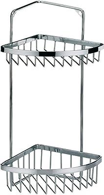 Kela ケラ 浴室用ラック ステンレス サイズ:20×14.5×H34cm コーナー ラック Galant 18919