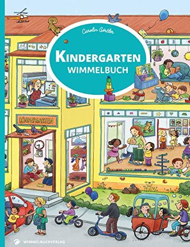 Kindergarten Wimmelbuch: Kita Bilderbuch ab 3 Jahren