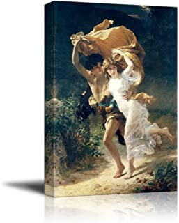 wall26 - The Storm by Pierre Auguste Cot - Canvas Print Wall Art Famous Painting Reproduction - 24