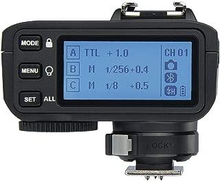 Godox X2T-O Disparador para Olympus para Panasonic, 2.4G Transmisor de Disparo de Flash inalámbrico para Olympus con TTL II HSS 1 / 8000s