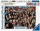 Ravensburger- Harry Potter Challenge 1000 Teile Erwachsenenpuzzle Puzzle Piezas Fantasy, Multicolor (14988)
