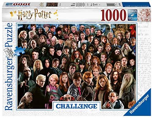 Ravensburger Puzzle Harry Potter, Puzzle 1000 Piezas, Colección Challenge, Impossible Rompecabezas Ravensburger de Alta Calidad, Harry Potter, Jigsaw Puzzle