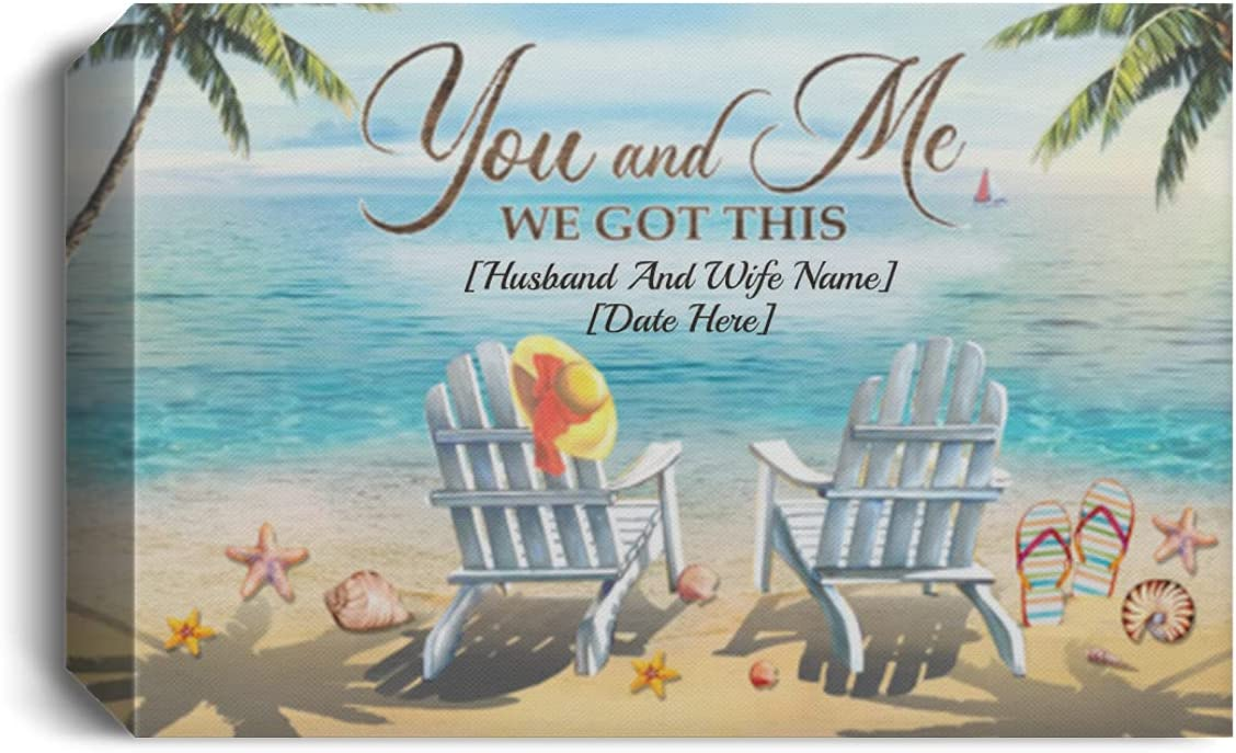 TeeWind Personalized You and 期間限定お試し価格 Me We Got Beach This Gallery Ocean 人気ショップが最安値挑戦