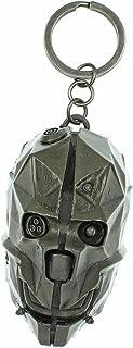 Dishonored 2 Character Mask Metal Keychain