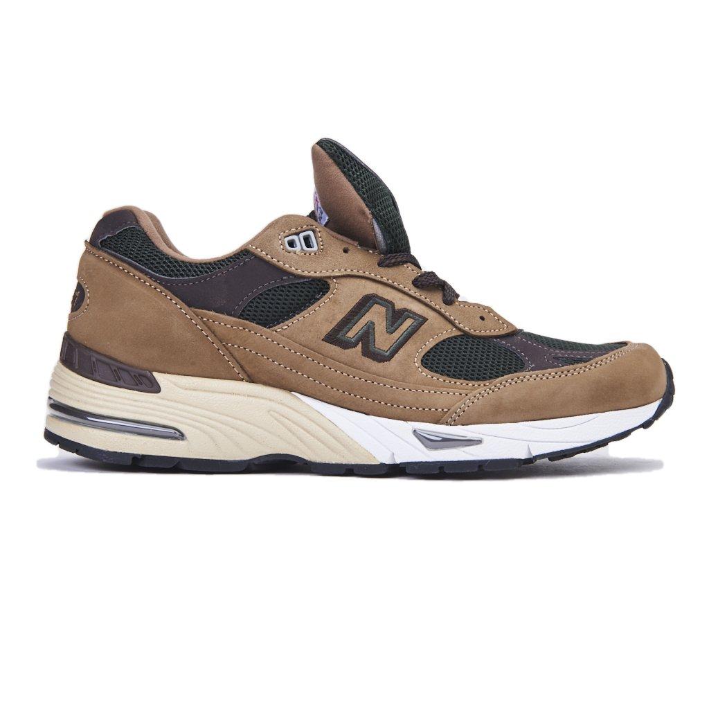 Sneakers NEW BALANCE nabuk marrone, nuova collezione autunno ...