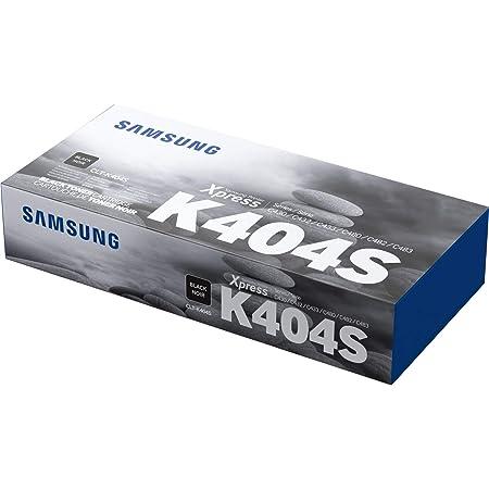 Samsung CLT-K404S SU100A Cartuccia Toner Standard Originale, 1.500 Pagine, Compatibile con Samsung Laserjet Serie Xpress C430, C480 e C483, Nero