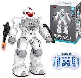 MKZDGM Robot RC para Niños, Programable Inteligente, Juguete de Robot Teledirigido de 2,4GHz, Kit de Robot de Detección de...