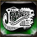 Biomech Mayhem AirSick Airbrush Stencil Template