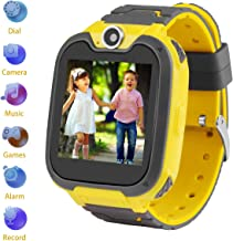 Kids Smartwatch Children Camera Two-Way Call SOS Alarm Clock Games Music Player Record Calculator 1.54 inch Touch Screen
