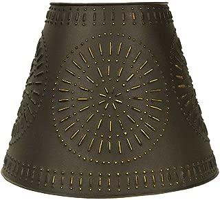 CTW Home Collection Pinwheel Tin Washer Top Lamp Shade