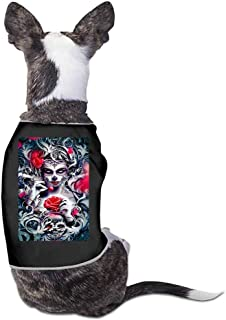 Dog Summer Vest Clothes,Best. Dad. Ever Print Sleeveless T Shirt for Small Pet