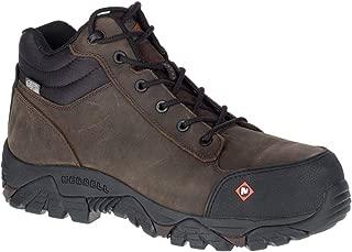Merrell Moab Rover Mid Waterproof Comp Toe Work Boot Men's