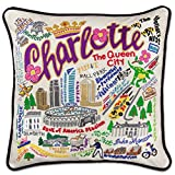 CHARLOTTE HAND-EMBROIDERED PILLOW - CATSTUDIO