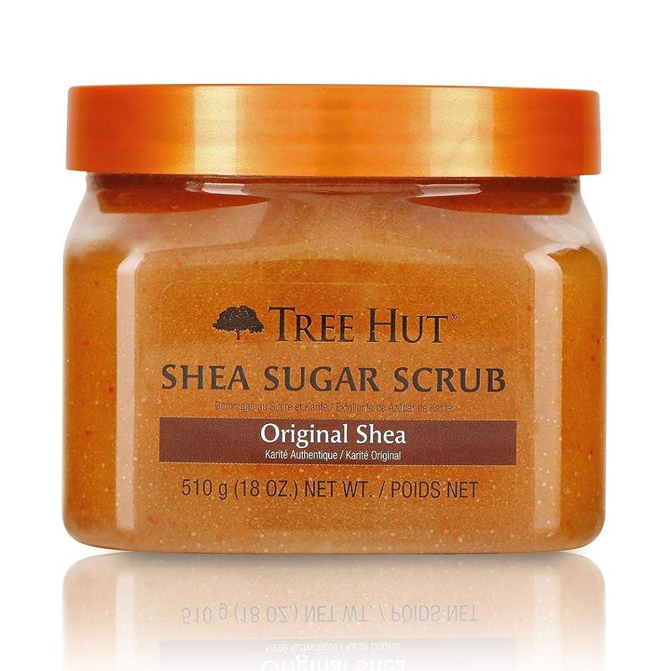 Tree Hut Shea Sugar Scrub Original Shea, 18oz, Ultra Hydrating and Exfoliating Scrub for Nourishing Essential Body Care (Pack of 3)