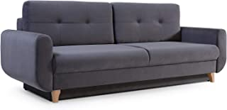 Mb Moebel Modernes Sofa Schlafsofa Kippsofa Mit Schlaffunktion Klappsofa  Bettfunktion Mit Bettkasten Couchgarnitur Couch Sofagarnitur