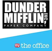 The Office Sign – Dunder Mifflin Logo – The Office Merchandise – Memorabilia Inspired by The Office (Dunder Mifflin Sign)