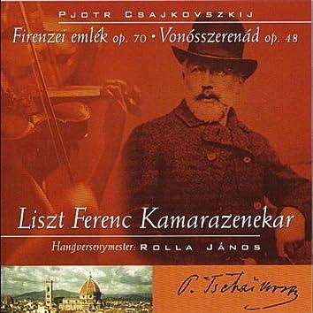 Tchaikovsky: Souvenir de Florence op. 70 and Serenade for Strings op. 48
