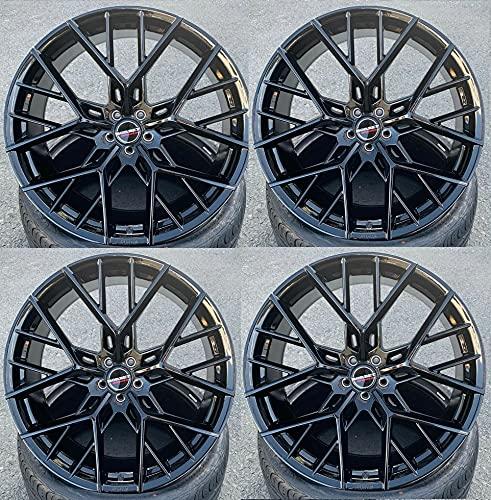 4 x 23 Zoll Borbet BY Alu Felgen 11x23 ET17 5x112 schwarz Glanz glänzend kompatibel für Touareg 3 ab BJ 2018-2021 CR Luftfederung 170KW bis 210KW SUV Rims Alloys Alufelgen NEU Leichtmetallfelgen