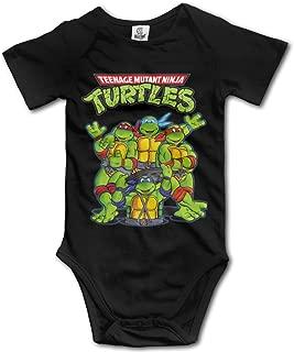 Teenage Mutant Ninja Turtles Baby Girls/Boys Short Sleeve Onesies