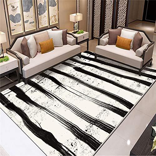 ZAZN Nordic Style Carpet Living Room Sofa Coffee Table Blanket Bedroom Full Shop Room Household Floor Mats Non-Slip Wear-Resistant Washable