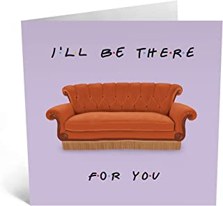 Central 23 - Cute Wedding Anniversary Card - 'I'll Be There For You' - Friendship Card - For Husband Wife Best Friend - Bo...