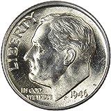 1946 D Roosevelt Dime BU Uncirculated Mint...