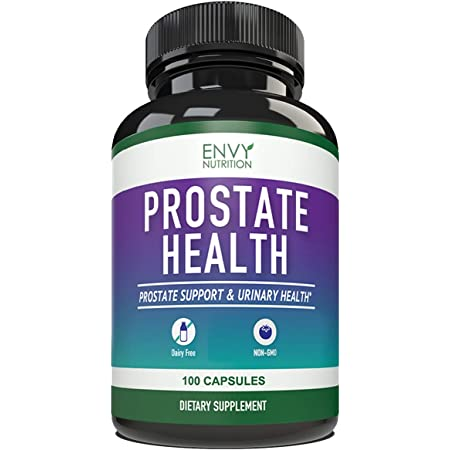 Advanced Prostate Health Supplements – Enhanced Saw Palmetto Formula for Healthy Urinary Tract & Bladder Health – 100 Capsules