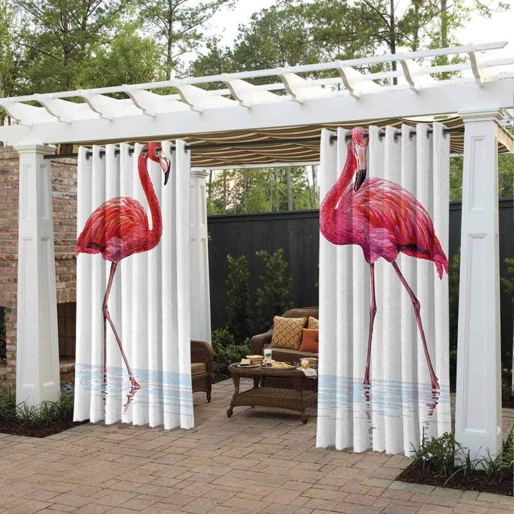 Animal Quality store Curtains Limited price sale for Pergola Sunroom Flami Drawn Two Hand