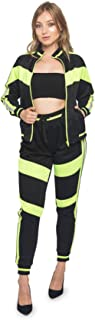 Women's 2 Piece Outfits - Long Sleeve Sweatshirts and Pants Tracksuit Set