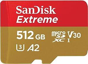 マイクロSD 512GB サンディスク Extreme microSDXC A2 SDSQXA1-512G-GN6MN SD変換アダプターなし 海外パッケージ品