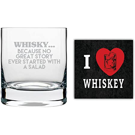 Yaya Cafe Buy Whiskey Buy Happiness Engraved Whiskey Glass With Coaster With Quotes Slogan Stelvio 325 Ml Amazon In Home Kitchen