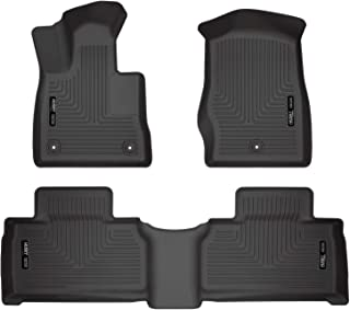 Husky Liners 99321 Fits 2020 Ford Explorer Weatherbeater Front & 2nd Seat Floor Mats